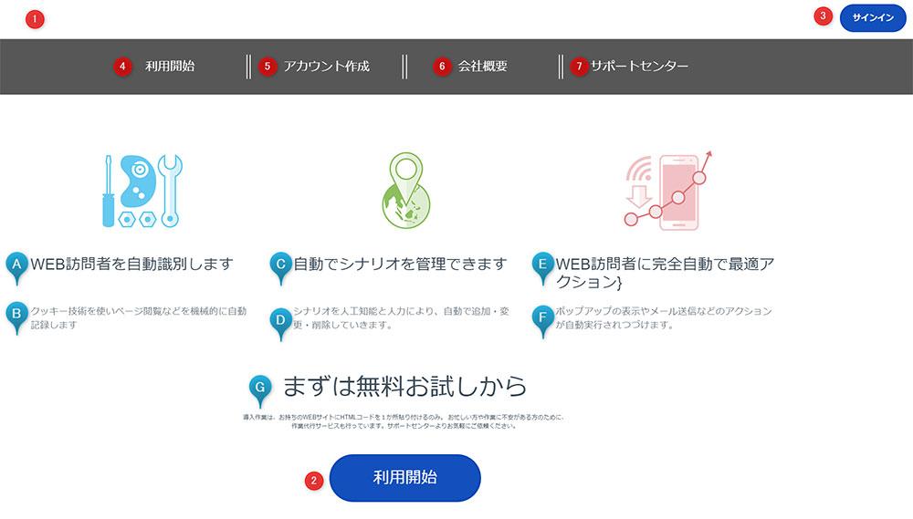 LPサイト作成